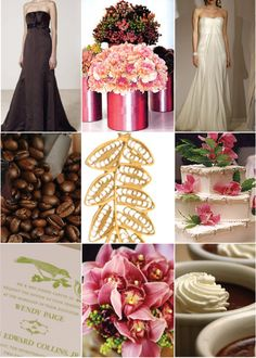 Not my idea but I love it and found it through Google images: coffee wedding