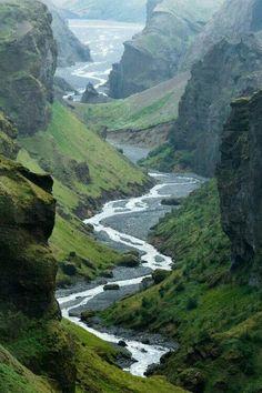 Hvannargil, Iceland