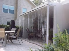 PATIO GALLERY: Weather Curtains For Patio