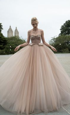 Inbal Dror 2016 Wedding Dresses - Ball gown wedding dress | itakeyou.co.uk #ballgown