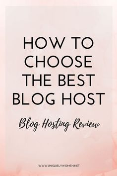 Blogging tips: Choosing a hosting provider for your website can be a daunting task if you're not familiar with the industry. Whether you need hosting for a blog, an e-commerce site or just a small business site, you need to know the most economical option for your needs. I've done the hard work researching and using different hosting companies over the past few years. I've put together a guide on how to choose the best blog host!