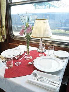 Danube Express - dining car / restaurant by Train Chartering & Private Rail Cars
