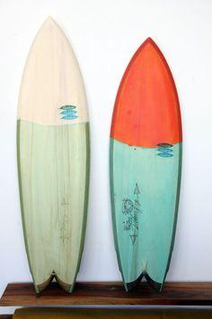Hess Surf Boards: San Francisco Danny Hess x Thomas Campbell - Singer Quad