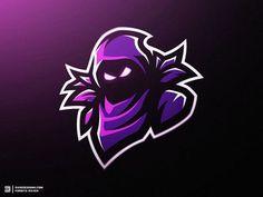 Fortnite Raven Mascot Logo