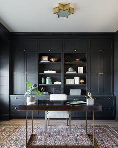 Otto Desk – Home Office Design Vintage Home Office Desks, Office Furniture, Bedroom Office, Furniture Ideas, Office Spaces, Home Offices, Home Office Cabinets, Office Floor, System Furniture
