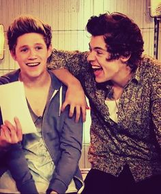 Their faces!!!! Narry!!!!