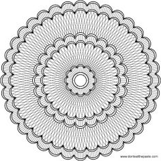 very detailed coloring pages for teens intricate mandala to color coloring books and pages detailed pages for very coloring teens. Detailed Coloring Pages, Mandala Coloring Pages, Coloring Book Pages, Printable Coloring Pages, Coloring Sheets, Doodle Coloring, Coloring For Kids, Mandala Pattern, Zentangle Patterns