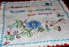 Embroidery, Portugal, Angela, Creative, Arts And Crafts, Colors, Boyfriends, Dashboards, Drawings