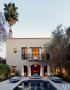 A guest house in San Miguel de Allende, Mexico.