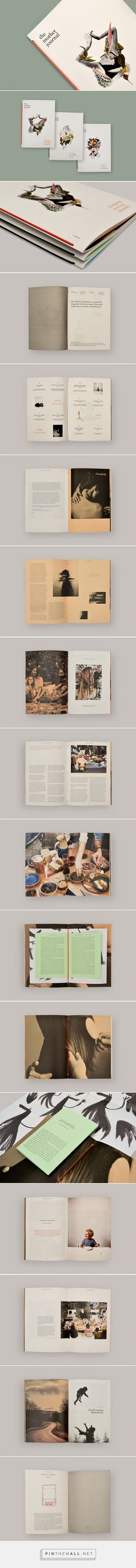the mother journal on Behance - created via https://pinthemall.net
