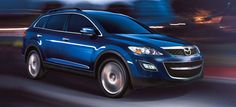 Mazda CX-9 Grand Touring - my new baby in blue