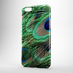 "Phone Case - iPhone, Samsung galaxy, Sony Xperia, HTC, LG, & Nokia Lumia - ""Peacock feathers"" by BeforethePresent on Etsy"