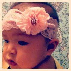 Baby Samone in her Headband!