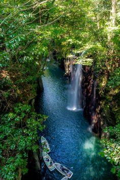 Takachiho Gorge by Alex Lim on 500px
