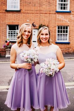 abideMaids | Lavender & Poka dot tulle Photography by Jade Nott Photography