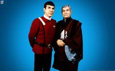 Spock and his father Sarek.