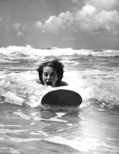 20 Surf Photos That Show Women Making Waves from the 1930s through the 1960s