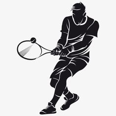 Find Tennis Player Silhouette stock images in HD and millions of other royalty-free stock photos, illustrations and vectors in the Shutterstock collection. Tennis Wallpaper, Fotografia Tutorial, Art Drawings Sketches Simple, Sports Art, Camera Photography, Tennis Players, Silhouette Design, White Art, Store Design