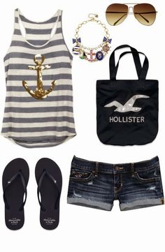 Ok now, I would wear this to the beach. Keeps you cool and your style'n