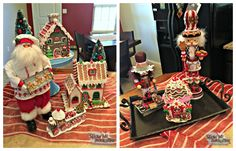 Christmas Decorating Blog - Christmas Decorating Ideas #DIY with #Santa, #Gingerbread and #Nutcrackers