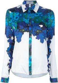 Erdem Floral Print Shirt Probably the prettiest shirt I've ever set eyes upon...
