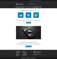 Classico - Responsive Email Template by ~lordthemes on deviantART