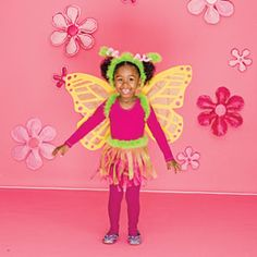 Do similar for Maddie - make a tutu and use her fairy wings she got this summer.