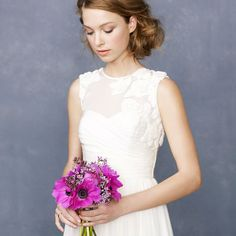 J.Crew Wedding Collection Fall 2012. Click through to see the bridesmaids dresses - there are some really cute ones!