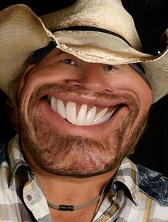 Toby Keith - this is too funny.  Reminds me of my horse.