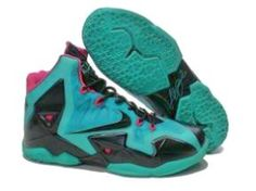 buy popular 76fe9 1b7b1 Buy Extremely Cheap Nike Lebron 11 Green Black Pink 616175 255 from  Reliable Extremely Cheap Nike Lebron 11 Green Black Pink 616175 255  suppliers.