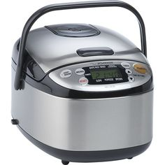 Zojirushi® Rice Cooker What a sexy rice cooker. Zojirushi definitely makes the best on the market!