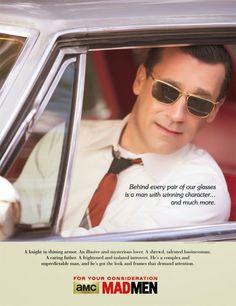 La campaña de 'Mad Men' para los Emmy