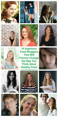 14 Ingenious Food Bloggers That Will Forever Change the Way You Think about Healthy Food  | WIN-WINFOOD.com #healthy #healthyeating #cleaneating #nutrition