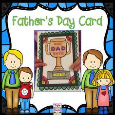 FREE FREE FREE This cute card is perfect to add to your Father's Day gift. Just print it double sided or double side copy it on a copy machine so it opens with the message on the inside.