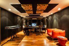 Estúdio do DJ - Galeria de Imagens | Galeria da Arquitetura
