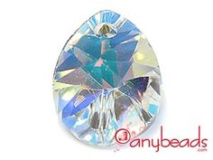 Swarovski Autumn/Winter 2011/12 New Article - 6128 Mini Pear Pendant - Crystal AB
