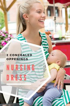 Perfect Nursing Dress for breastfeeding mothers!