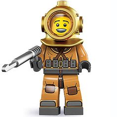 LEGO Minifigures Series 8 6-16 - Orange Diver