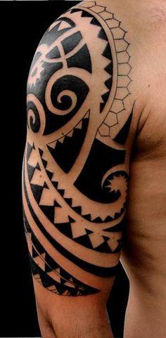 tatuagem.polinesia.maori.kirituhi by Tatuagem Polinésia - Tattoo Maori, via Flickr