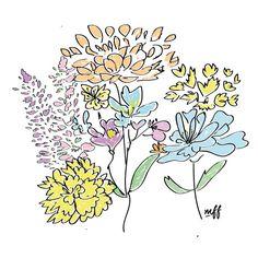 Flores #diseñoTENSIA #tabletwacom