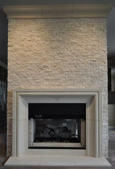 Love the Shaker fireplaces