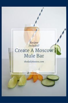Creating A Moscow Mule Bar