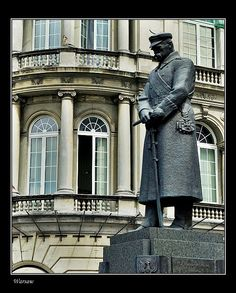This photo from Mazowieckie, East is titled 'Poland's hero, Pilsudski square, Warsaw'. Beautiful World, Beautiful Places, Poland History, Backpacking Trips, Carpathian Mountains, Historical Images, Baltic Sea, Central Europe, Krakow