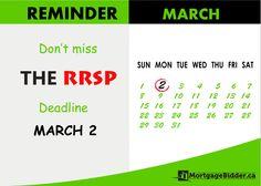 #RRSP Season is here! #Canada