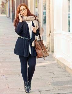Trends - Designer Mode in Übergröße / Plus Size Bekleidung für Damen