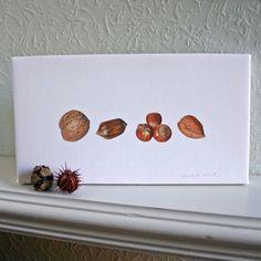 Impression de toile  Mixé Nuts  par TheBotanicalConcept sur Etsy