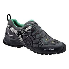 Salewa Women's WS Wildfire Pro GTX Approach Shoe, Carbon/Assenzio, 9 M US * Read more reviews of the product by visiting the link on the image.
