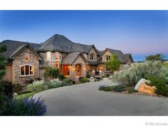 9114 finished SF for 1.85 mil a Castle Rock CO luxury home