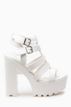 Buy White Faux Leather Multi Strap Lug Sole Heels with cheap price and high quality from Cicihot Heel Shoes online store which also sales Stiletto Heel Shoes,High Heel Pumps,Womens High Heel Shoes,Prom Shoes High Heel Pumps, High Heel Boots, Pumps Heels, Stiletto Heels, Wedge Heels, Womens Shoes Wedges, Womens High Heels, Frauen In High Heels, Prom Shoes