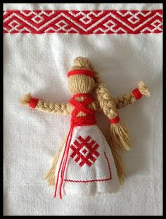 Slavic doll - inspiration in Ukrainian folklore